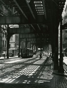 The Bowery Under the El, 1946.