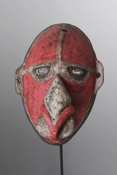 Vokeo Island Dance Mask Papua New Guinea Oceanic Art