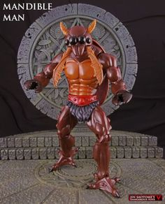Mandible Man Custom Action Figure