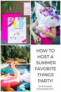 How to Host a Summer