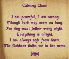 Calming chant