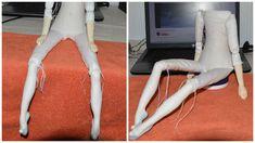 набор для творчества, крепление куклы, как сделать будуарку