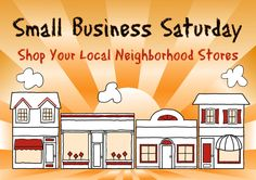 Today is Small Business Saturday all over the country. Small Business Saturday happens the day after Thanksgiving and Black Friday, which is the largest shopping day of the year. Small Business Trends, Small Business Saturday, Small Business Marketing, Social Media Marketing, Email Marketing, Hyde Park, Business Quotes, Business Tips, Independent Business