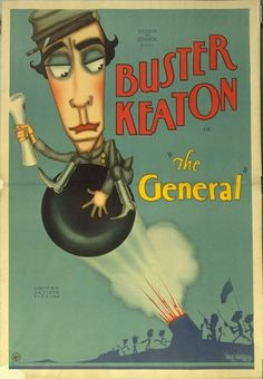 The General (1926). Never saw this staggering poster before!