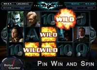PinWinSpin with Bonus Counter | The Dark Knight Slot