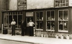 Bon Stanwell Street   (Hatfields Furniture Store) (Arthur Hatfields With John  And Tony London)
