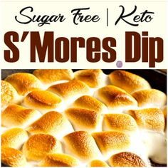 This Sugar Free Keto S'Mores Dip is amazing! I love that this can even be done without adding a bunch of sugar to it. Sugar Free Keto S'Mores Dip Possibly the best part about having a barbecue or cookout is the warm s'mores that we enjoy with it. It really is hard to not...