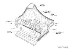 """[Projects] Commune 246 屋台 """"BRETON"""" « TOSHIKI HIRANO DESIGN"""