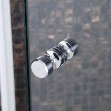 frameless corner shower screens screen handle Ensuite Bathrooms, Bathroom Renos, Shower Screens, Door Handles, Corner, Home Decor, Door Knobs, Decoration Home, Room Decor