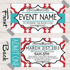 Excellent Ticket Design 07 | Design, Marketing, Promotion ...