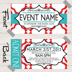 ticket design on pinterest ticket design ticket and event tickets