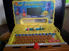 Spongebob laptop open