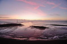 Loe tide sunrise reflections at Teignmouth Beach - Teignmouth Shaldon and Dawlish