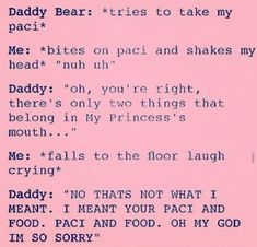 A book full of DDLG scenarios and pictures. Rping is allowed and this… Daddys Girl Quotes, Daddy's Little Girl Quotes, Little Things Quotes, Daddys Little Princess, Daddy Dom Little Girl, Ddlg Quotes, Freaky Goals, Daddy Kitten, Ddlg Little