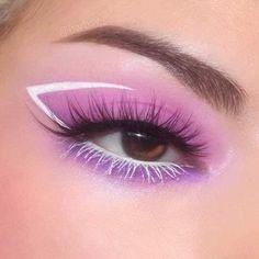 Edgy Makeup, Makeup Eye Looks, Eye Makeup Art, Cute Makeup, Pretty Makeup, Skin Makeup, Eyeshadow Makeup, Makeup Inspo, Pretty Hair