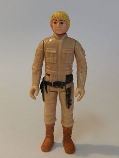 Vintage Star Wars Action Figure Bespin Cloud City Luke