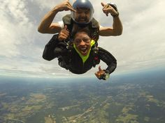 Thrill your date with an adventure in Georgia!   Pictured: Skydive Spaceland Atlanta