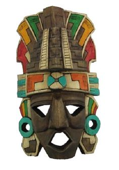Ready to embody the warrior spirit of the Mayans, Inca and Aztec people? African Masks, African Art, Mayan Mask, Ceramic Mask, Aztec Calendar, Arte Cyberpunk, Masks Art, Tribal Art, Ancient Art