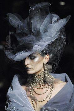 Love this. She reminds me of Miss Havisham