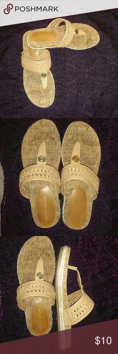 Tommy Hilfiger sandals Neat cork screw materials Tommy Hilfiger Shoes Sandals