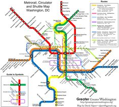 metro map dc
