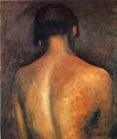'hinten' von André Derain (1880-1954, France)
