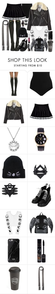 """you're so silly"" by semmaos ❤ liked on Polyvore featuring Wolford, Acne Studios, Topshop, Iron Fist, Native Union, Bourjois, The Created Co., Maybelline and Valentino"
