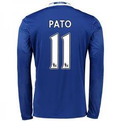 Chelsea 16-17 Alexandre #Pato 11 Hjemmebanesæt Lange ærmer,245,14KR,shirtshopservice@gmail.com