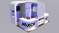 Cinema 4D Tutorial   How to Create an Exhibition Stand - YouTube