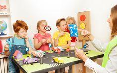 Projekt im Kindergarten: Fußgängerführerschein für Kinder
