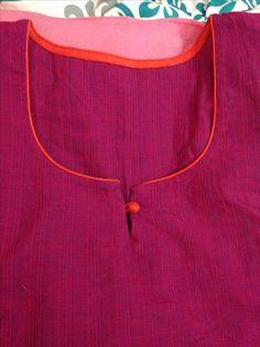 Different types of kurtis neck designs - Art & Craft Ideas Churidar Pattern, Salwar Neck Patterns, Neck Patterns For Kurtis, Salwar Kameez Neck Designs, Churidar Designs, Neck Design For Kurtis, Chudithar Neck Designs, Neck Designs For Suits, Neckline Designs