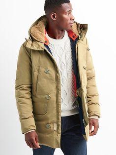 Gap Mens Holubar Boulder Coat Khaki