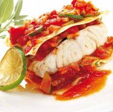 Recette de lasagnes du pêcheur avec nos Cœurs de filets de merlu blanc Pescanova , courgettes et fondue de tomates ...