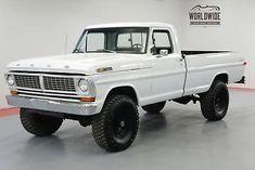 ford trucks old Classic Pickup Trucks, Old Pickup Trucks, Ford 4x4, Ford Classic Cars, Lifted Ford Trucks, 4x4 Trucks, Diesel Trucks, Trucks For Sale, Cool Trucks