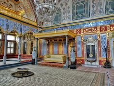 The Topkapi Palace and its Harem; the sultan's heaven on earth in Istanbul