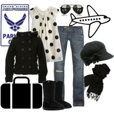 minus the boots and shades Airplane Travel Outfits, Love Jeans, Winter Wear, Cute Tops, What To Wear, Style Me, Luxury Fashion, Fashion Looks, Fashion Outfits