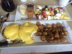 eggs potatoes fruits