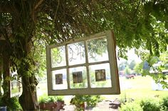 Window pane decor