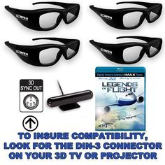 "True Depth 3D Family Bundle -4 Pairs of Glasses with Emitter and 3D Blu ray) for Mitsubishi 3D TVs (""3D-ready"" TVs may Require Additional Hardware) by TrueDepth3D. $234.99. You are looking at a state of the art, high quality, low cost 3D shutter glasses system by TrueDepth 3D that can be used with any Mitsubishi 3D TV (""3D-ready TVs require additional hardware- see below for details).  These glasses are also fully compatible with Samsung 2010 LED, Plasma or LCD 3D TV..."