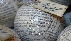 Con papel de diario | 12 ideas para preparar adornos de Navidad en casa - Yahoo Tendencias España
