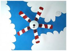 How to make a Dr. Seuss ceiling fan