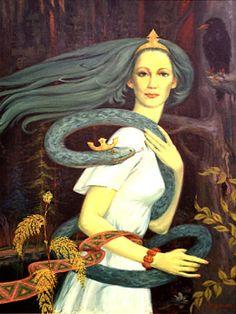 Lithuania - Eglė the Queen of Serpents