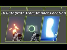 Disintegrate from Impact location - ( Tutorial) Blender 3d, Tool Design, Game Design, Spell Circle, Substance P, Game Effect, Game Mechanics, Video Game Development, Tech Art