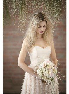 El blog de Paz Ortega: Peinados de novia 2013 (II). Pelo suelto.