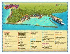 Disney's Castaway Cay Map