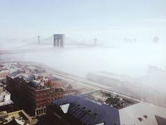 fog over brooklyn