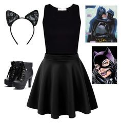 """""""#catwoman"""" by al4xa ❤ liked on Polyvore featuring Maison Close"""