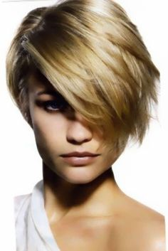 Awesome and Highly Appealing Golden Blonde Short Hairstyle... wish i was blond and 20 yrs younger!