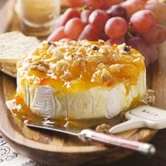 Entertaining: Easy Appetizers – Jezebel Sauce on Brie
