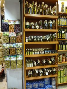 Olives in Greece!